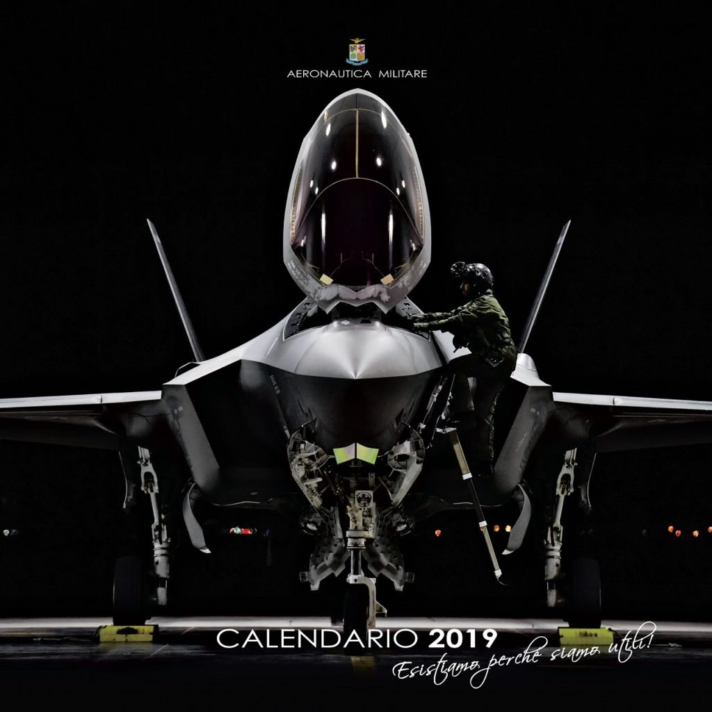 Calendario Marina Militare 2020.Aeronautica Militare Un Calendario 2019 Interattivo Basta