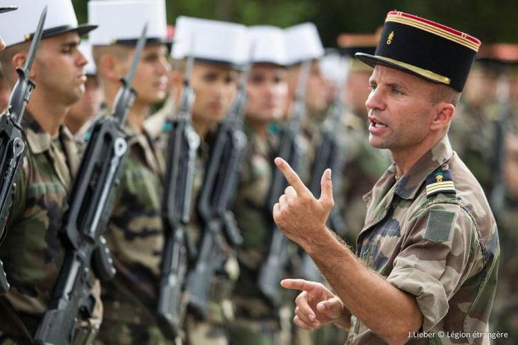 Addestramento della Legione Straniera f57f759d44e6