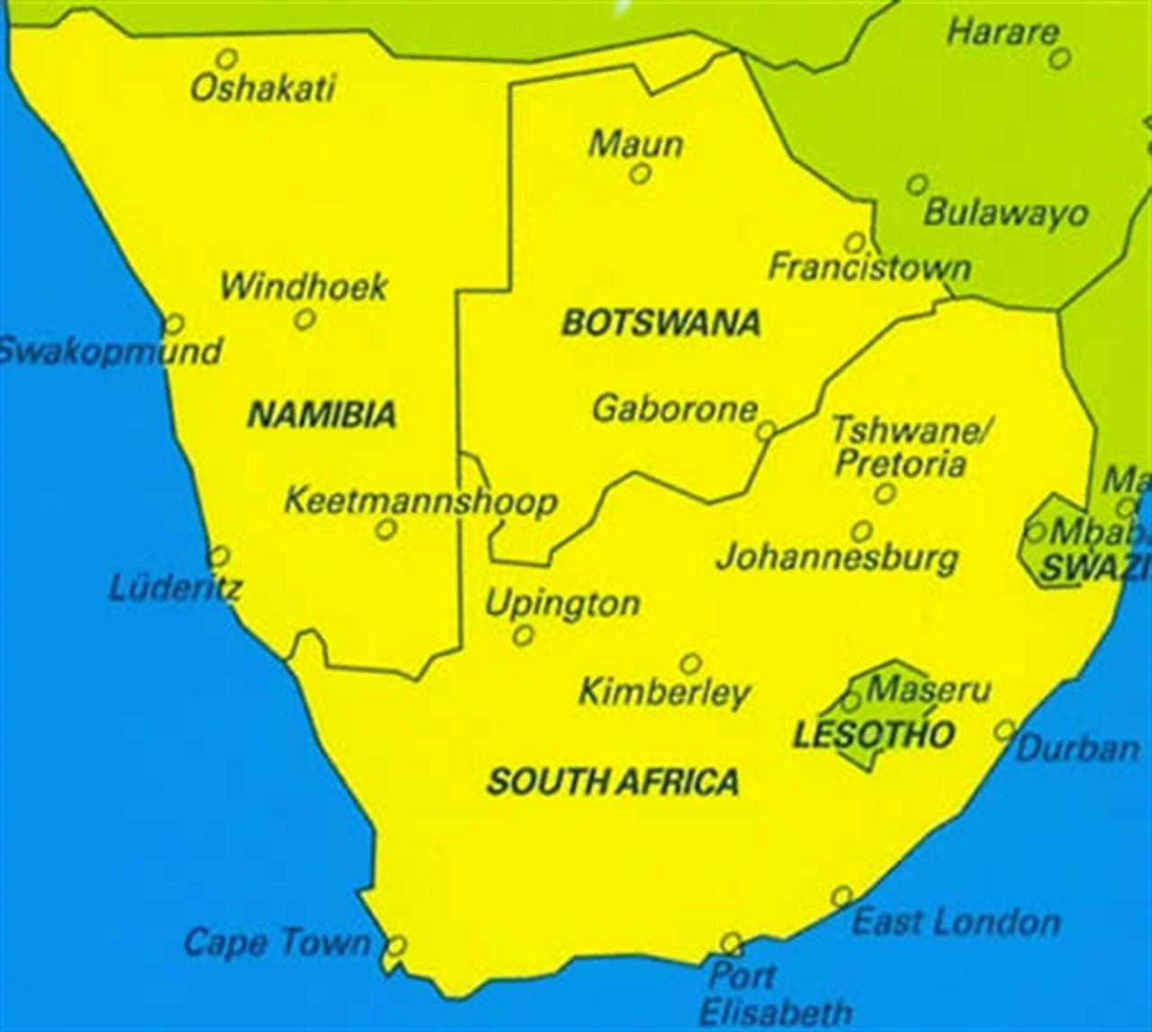 Cartina Africa Del Sud.Sud Africa Le Elezioni Politiche Evidenziano La Crisi Dell Anc