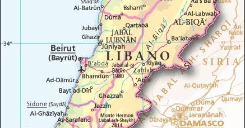 Cartina Libano E Israele.Libano Il Futuro Hub Della Ricostruzione Post Guerra Di Siria Report Difesa
