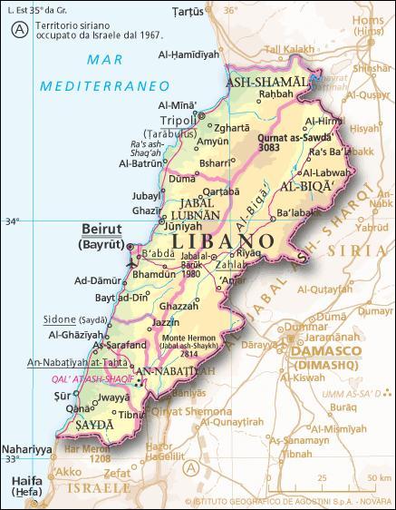 Cartina Del Libano.Libano Il Futuro Hub Della Ricostruzione Post Guerra Di Siria Report Difesa