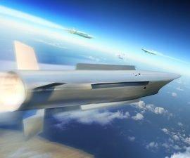 Immagine pittorica del futuro sistema antimissile Twister