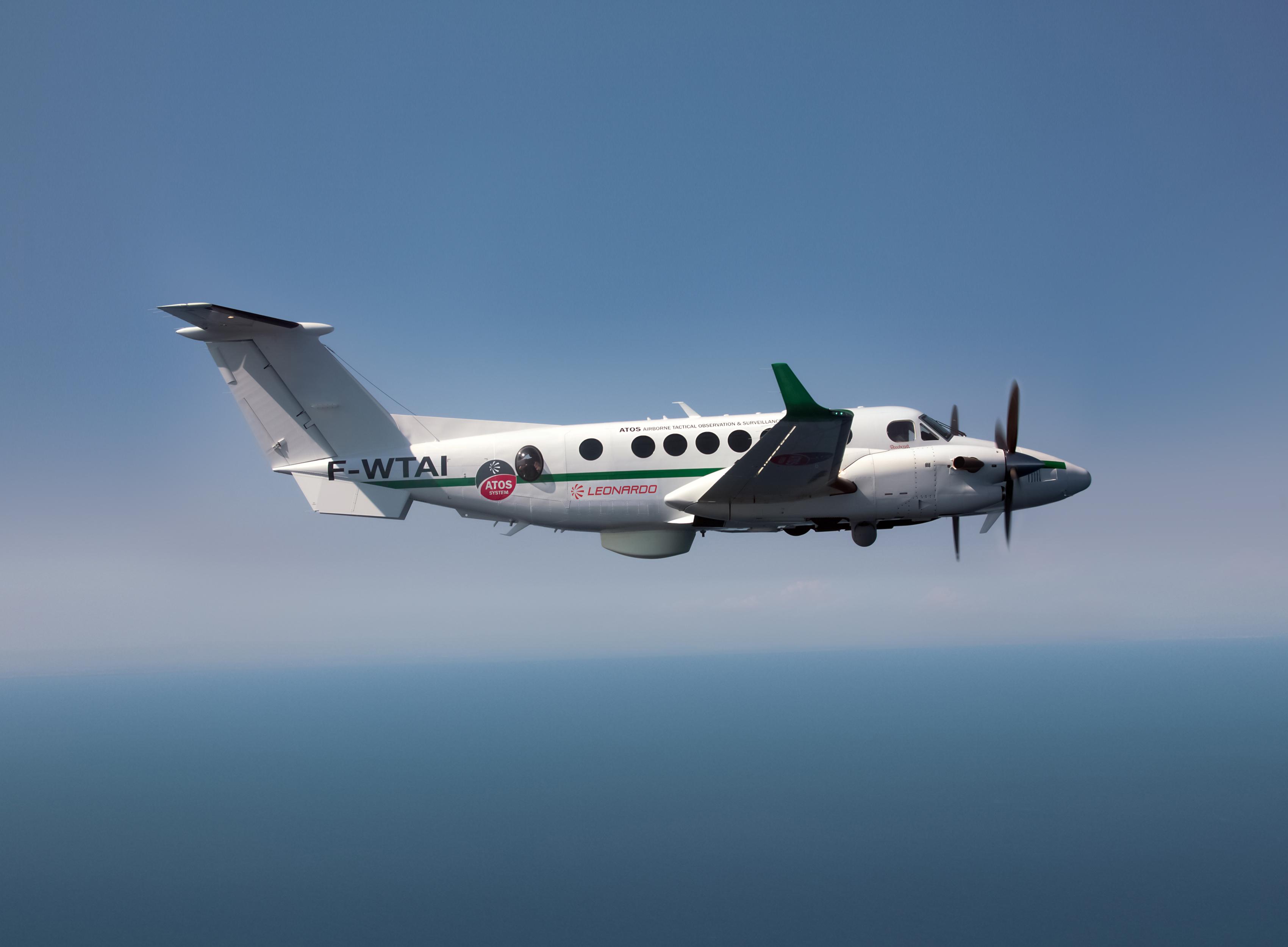 Leonardo, consegnati due King Air 350ER in configurazione MPA ...